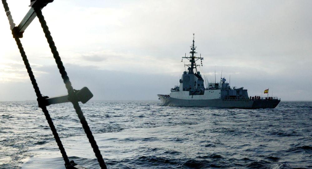 Navio de combate espanhol