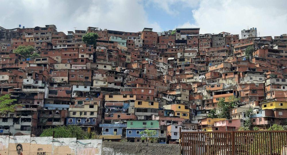 Casas em Caracas, capital venezuelana