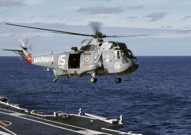 Helicóptero SH-3A da Marinha do Brasil