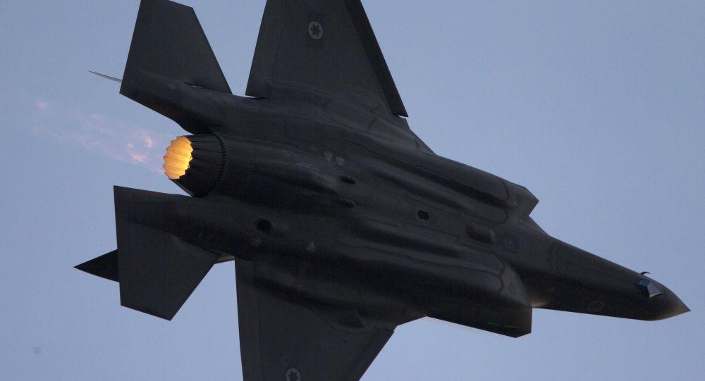 Caça F-35 da Força Aérea israelense durante apresentação na cidade de Beersheba, Israel, 29 de dezembro de 2016 [© AP Photo/ Ariel Schalit]