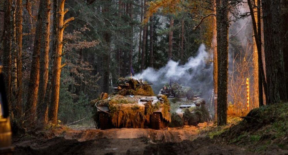 Exercício militar da OTAN Lobo de Ferro 2019 na Lituânia