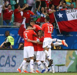 Chile bateu o Equador em jogo do Grupo C da Copa América 2019