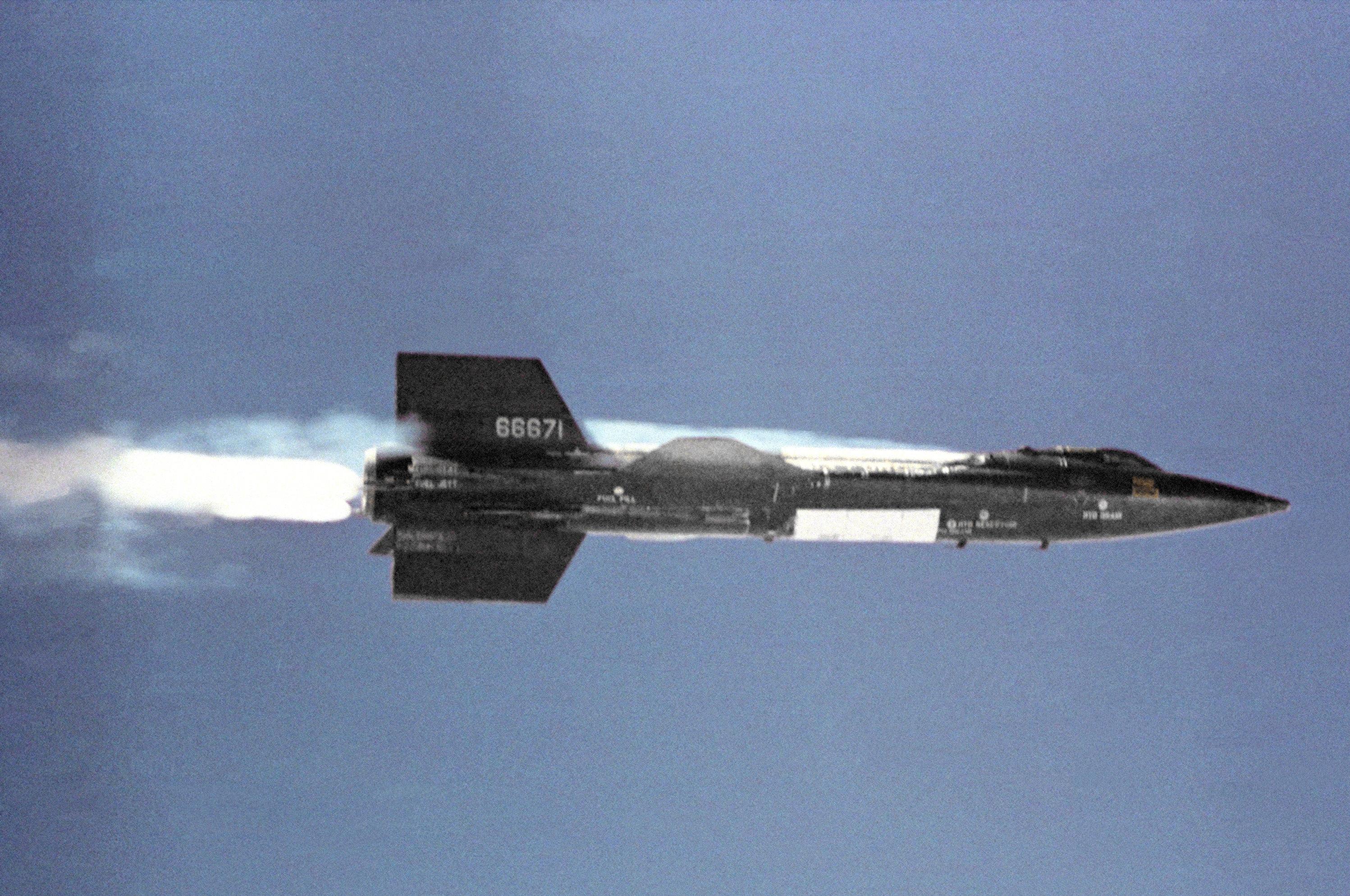 Avião espacial norte-americano X-15