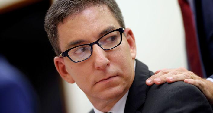 Jornalista Glenn Greenwald comparece ao Comitê de Direitos Humanos da Câmara dos Deputados, Brasília, 25 de junho de 2019