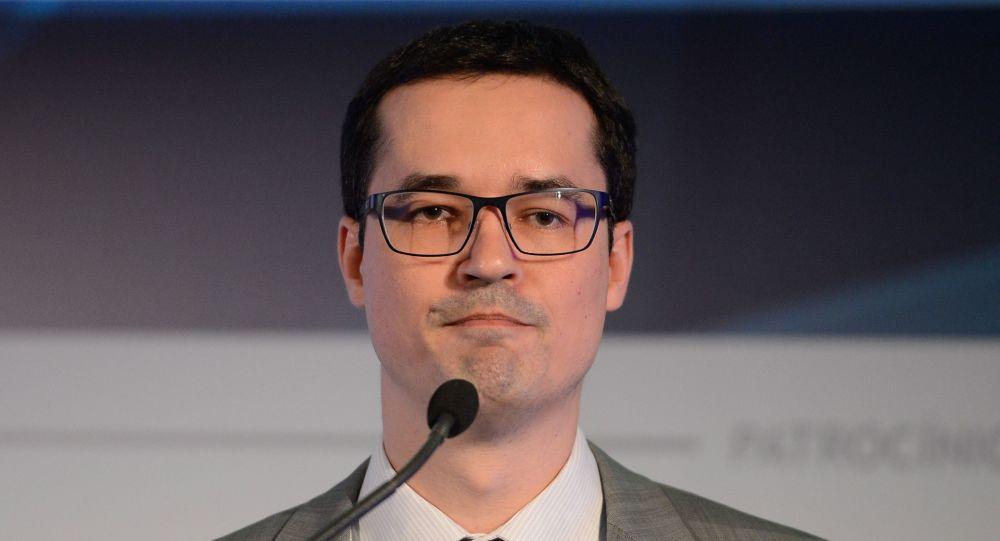 Deltan Dallagnol fala sobre a Lava Jato no Congresso da Associação Brasileira de Private Equity & Venture Capital, Rio de Janeiro, 7 de julho de 2016