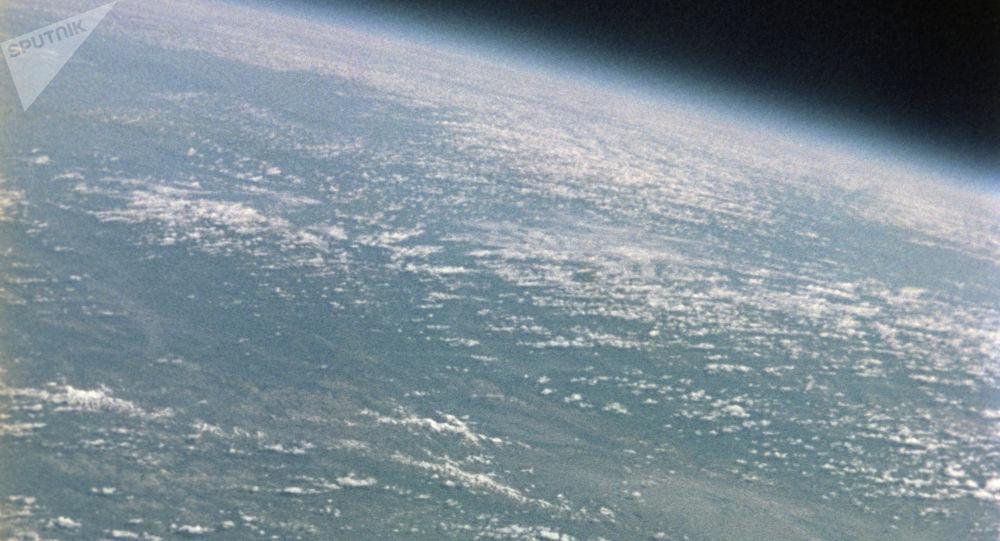 Terra. Vista do espaço