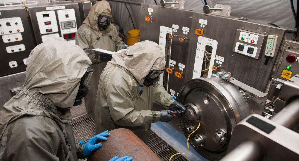Contaminação química