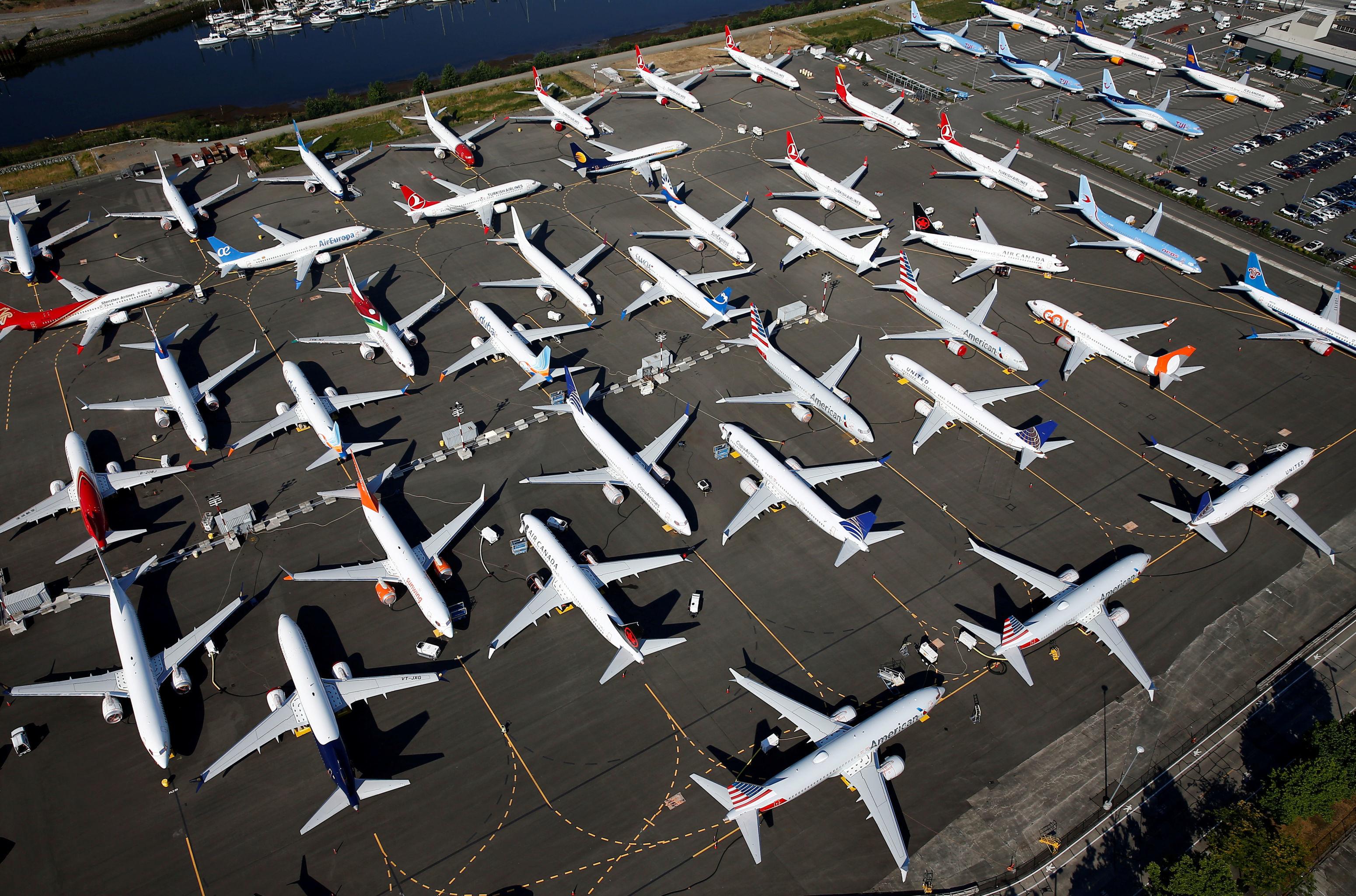 Aviões Boeing 737 MAX