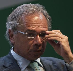 O ministro da Economia Paulo Guedes.