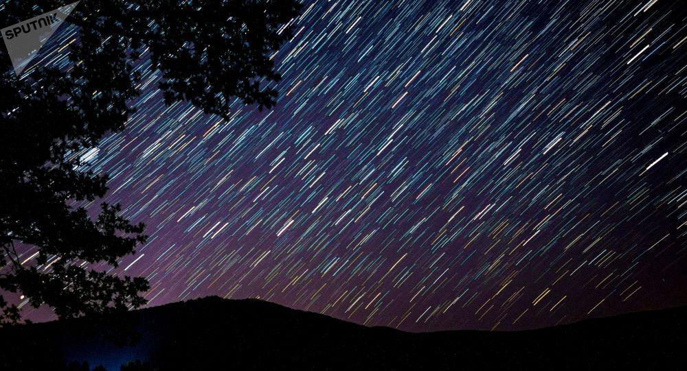 Chuva de meteoros Perseidas na Rússia, 12 de agosto de 2019