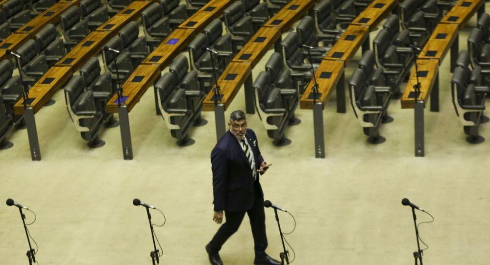 Deputado Alexandre Frota na Câmara dos Deputados