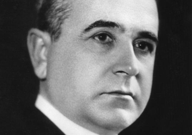 Getúlio Vargas em retrato de 1938.
