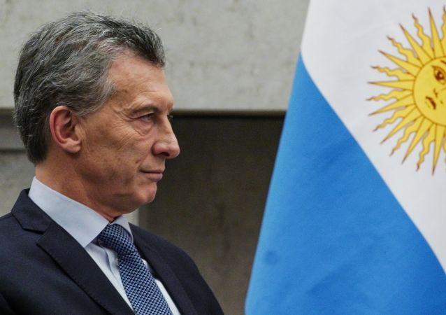 Macri durante a cúpula dos Brics, em 2018.