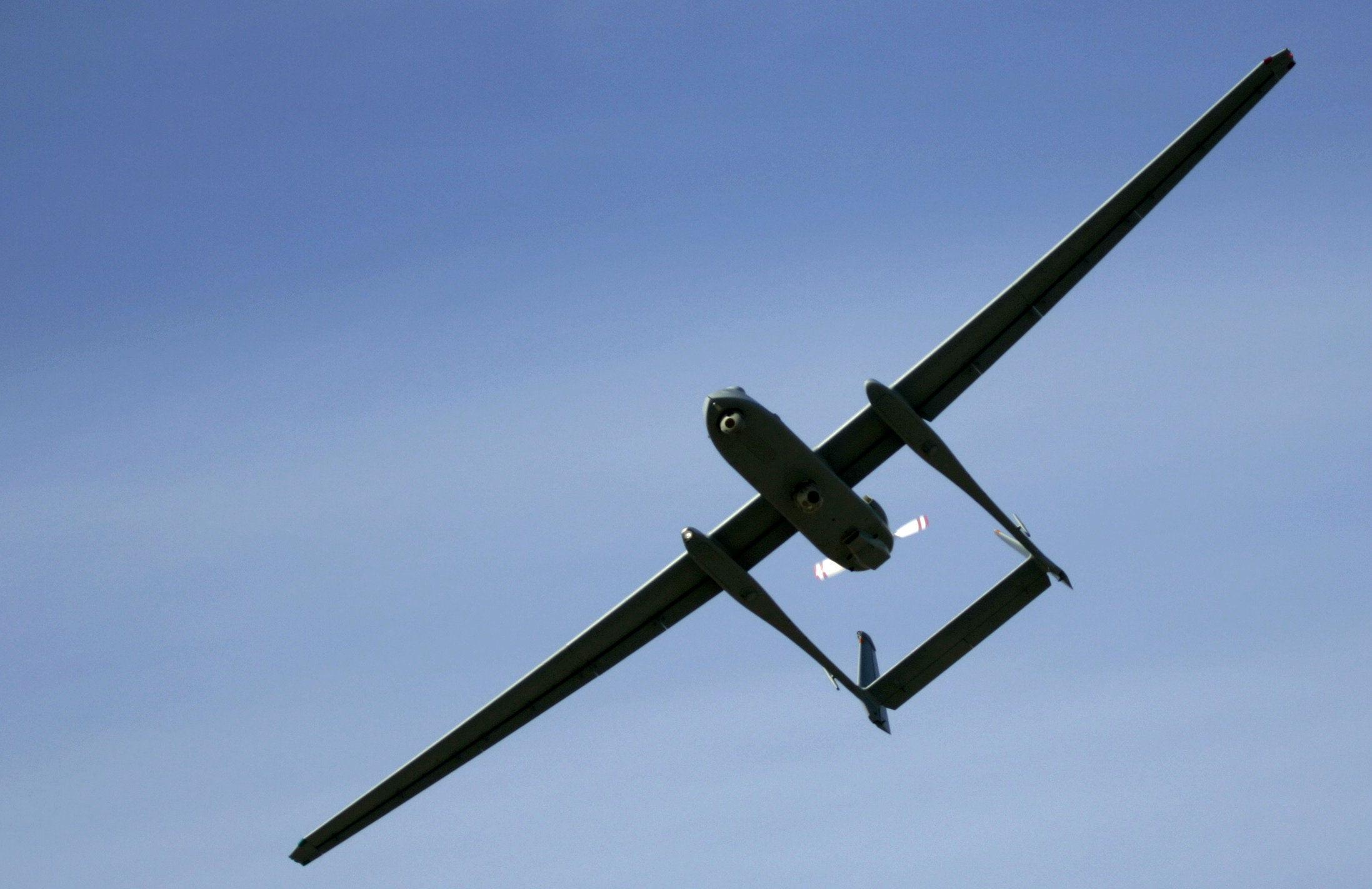 Drone do Exército israelense (imagem de arquivo)