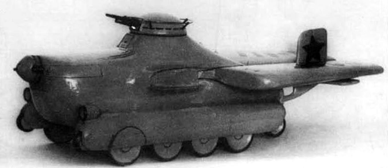 Maquete do tanque MAC-1