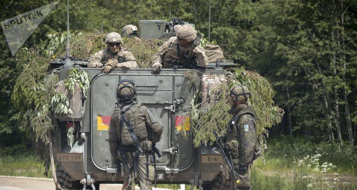 Exercícios militares da OTAN Saber Strike 2016, na Estônia