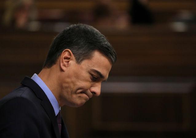 Pedro Sánchez, primeiro-ministro da Espanha.
