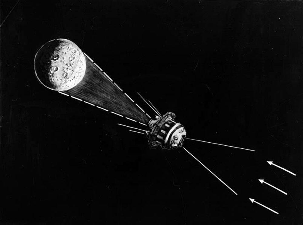 As imagens foram feitas a uma distância de 60 mil a 70 mil quilômetros da Terra
