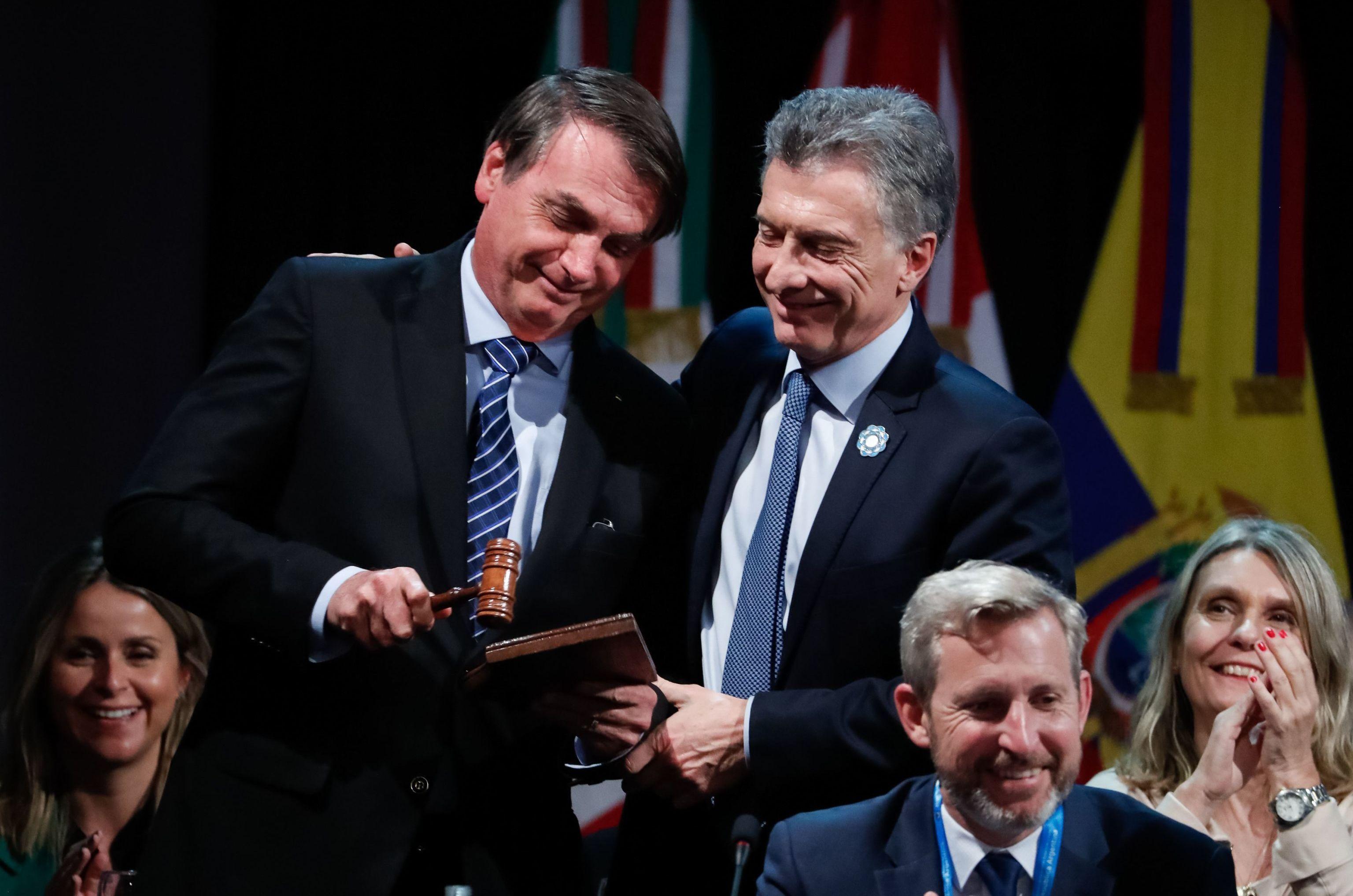 Brasil recebe da Argentina a Presidência pró-tempore do Mercosul, em agosto de 2019