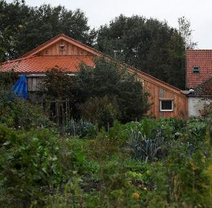 Vista da fazenda remota onde família holandesa passou anos trancada em porão, em Ruinerwold, Países Baixos, 15 de outubro de 2019