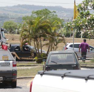 Assalto na empresa Brink's, localizada no Aeroporto Internacional de Viracopos, em Campinas, deixou dois seguranças feridos após tiroteio.