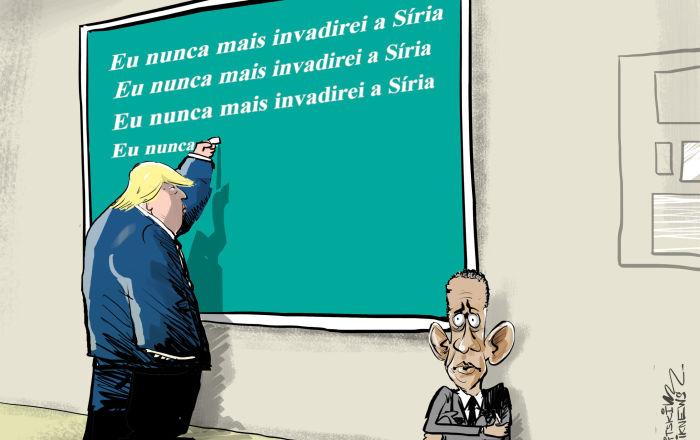 EUA aprendendo com seus erros na Síria