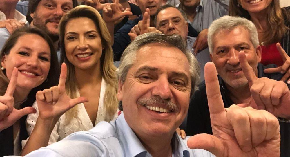 O presidenciável argentino Alberto Fernández publicou mensagem de apoio ao ex-presidente Lula