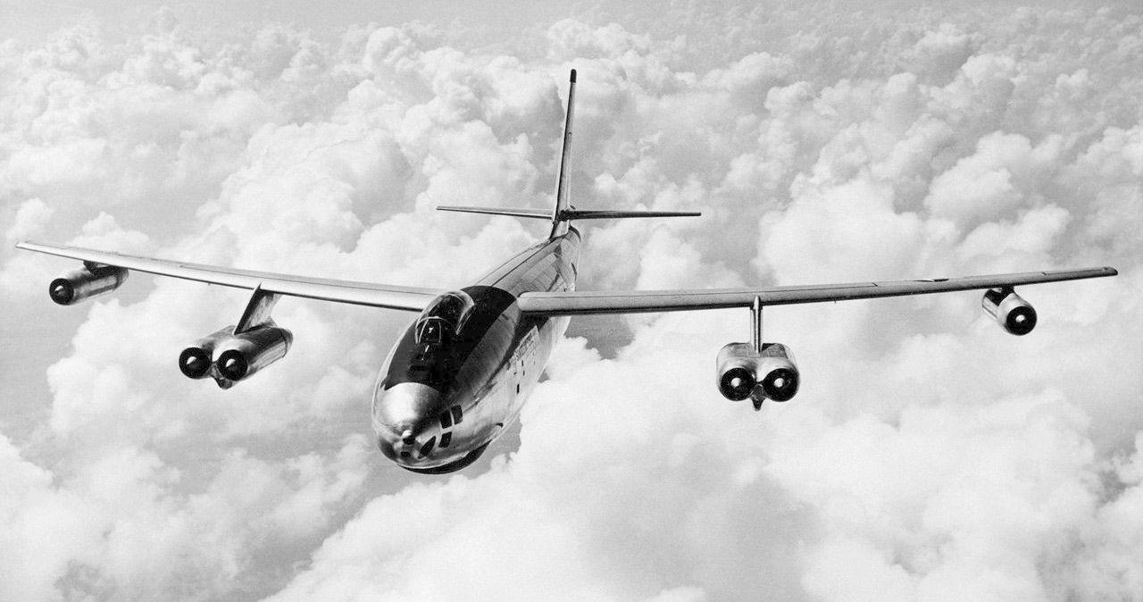 Bombardeiro americano Boeing B-47 Stratojet