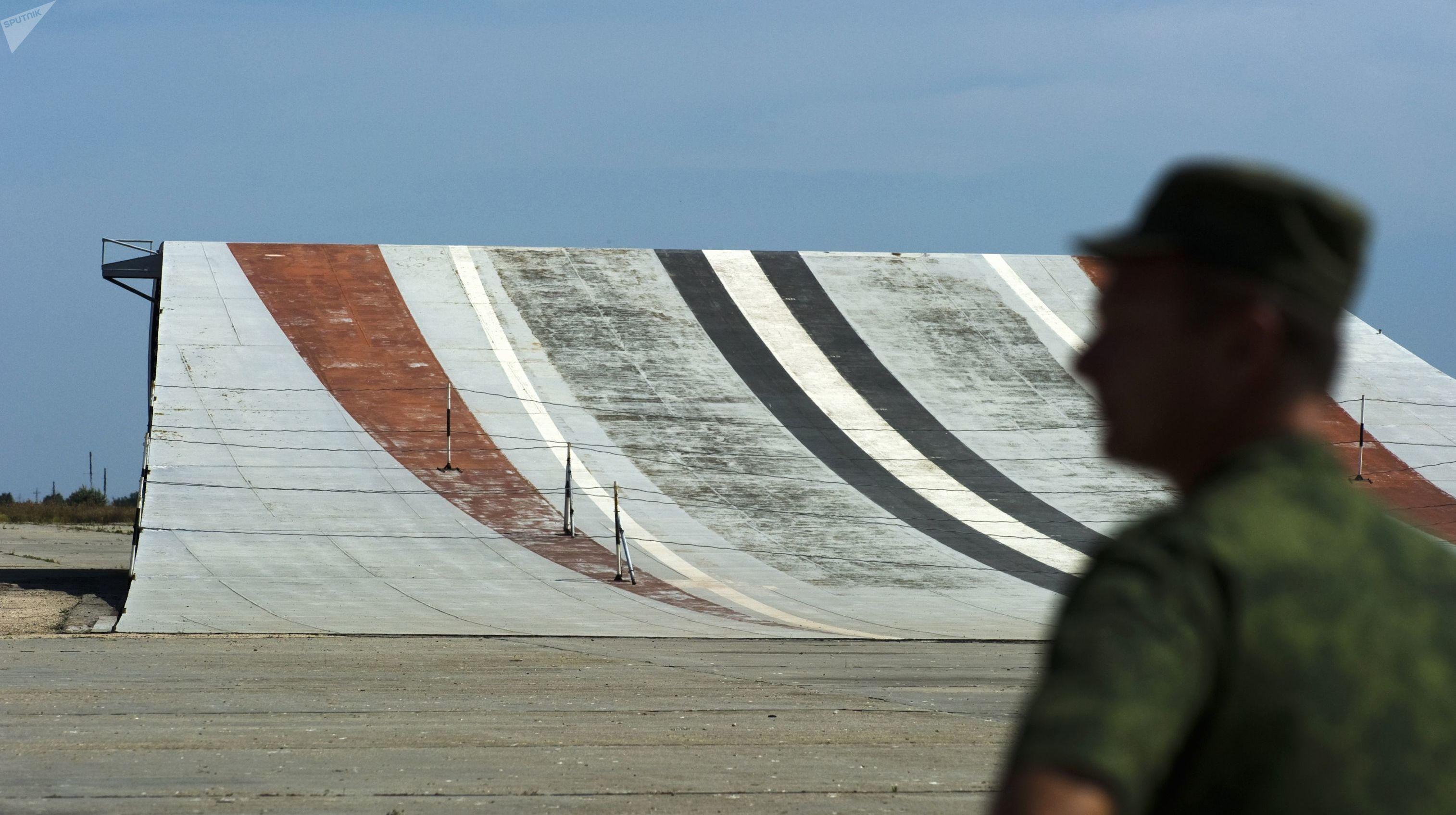 Complexo terrestre de treinamento da aviação embarcada Nitka, na Crimeia
