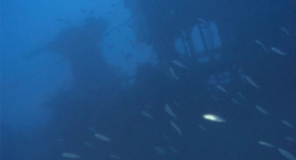 Destroços do submarino britânico HMS Urge, encontrado na costa de Malta 70 anos após naufragar durante a Segunda Guerra Mundial