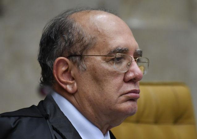 Gilmar Mendes, ministro do STF, em 23 de outubro, durante julgamento sobre prisão em segunda instancia realizado no Plenário do STF.