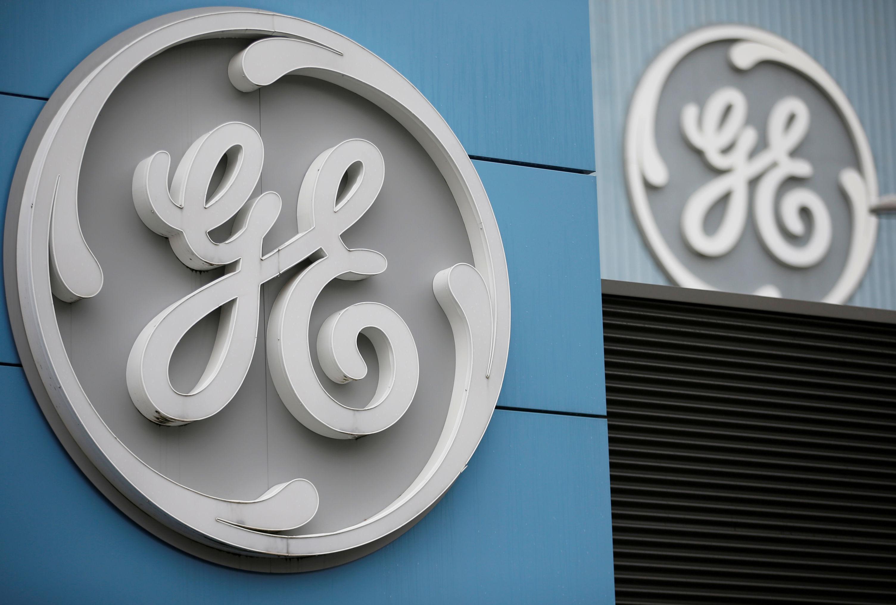 Logotipo do conglomerado norte-americano General Electric, que participou da construção de míssil do tipo V-2, na década de 40