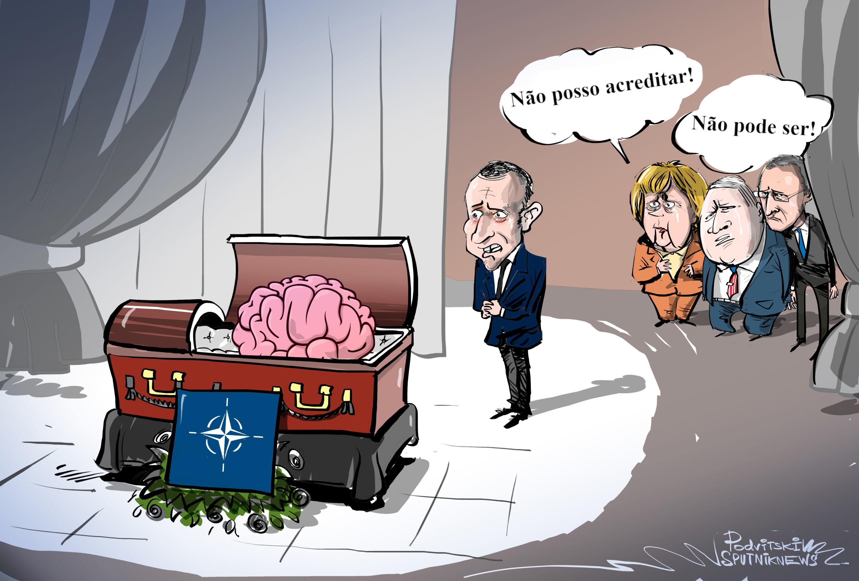 Nem todos enxergam 'morte' da OTAN