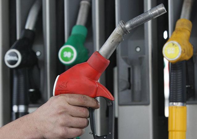 Posto de gasolina russo Gazpromneft