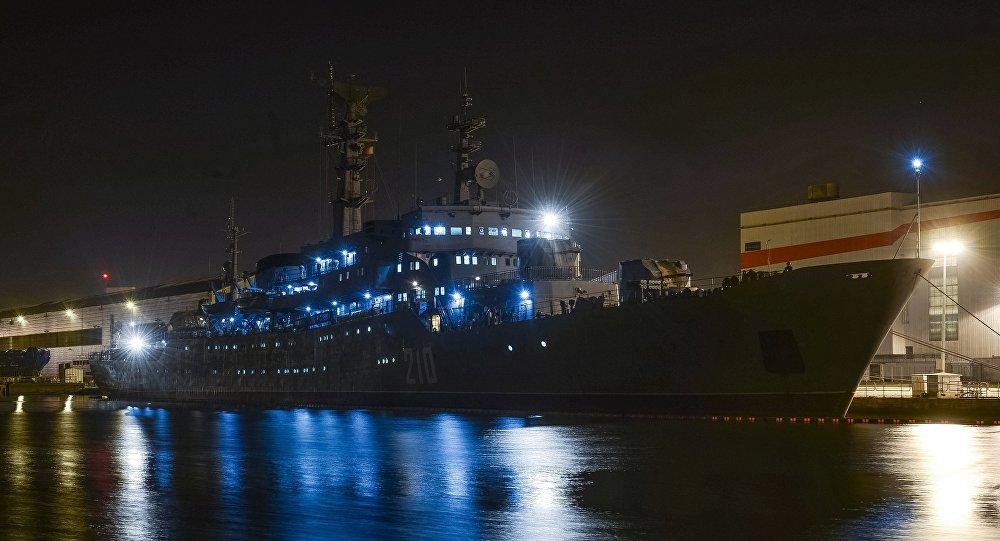 Empresa de construção de navios STX Europe em Saint-Nazaire