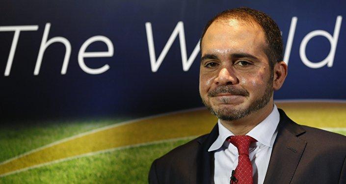 Príncipe da Jordânia, Ali bin al-Hussein, candidato à presidência da FIFA