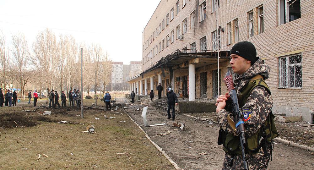 Disparos de artilharia contra Donetsk foram retomados com nova intensidade