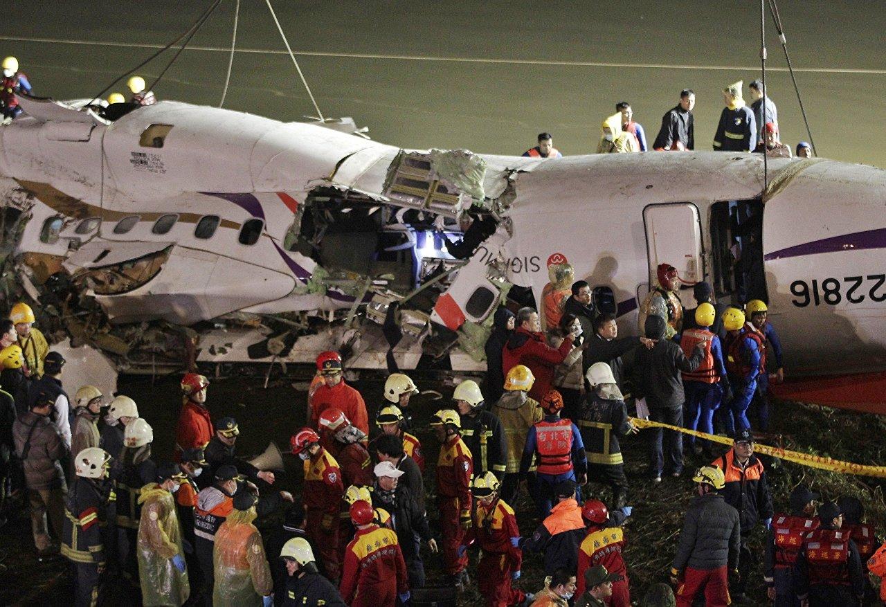 Encontrados os corpos dos pilotos do avião da TransAsia Airways