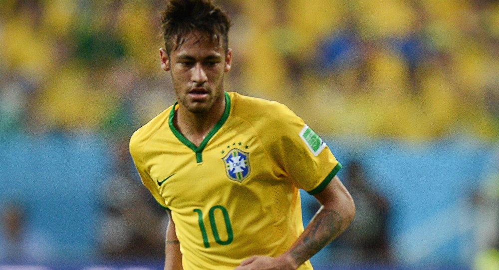 Futebol. A Copa do Mundo - 2014. Neymar