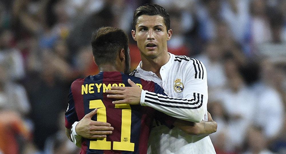 Neymar e Cristiano Ronlado