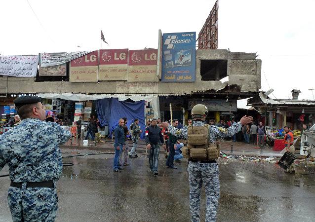 Explosão em Bagdá (arquivo)