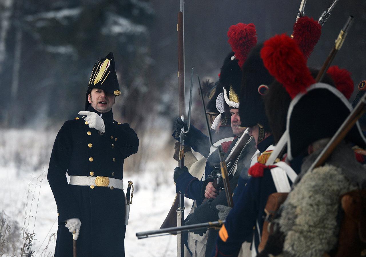 Reconstrução histórico-militar da guerra russo-napoleônica de 1812