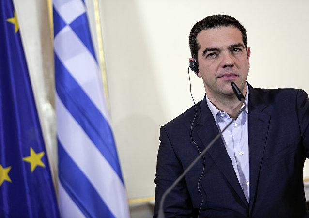 O primeiro-ministro da Grécia, Alexis Tsipras (arquivo)