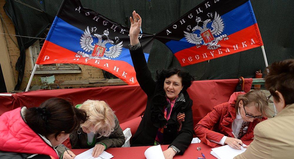 Eleições no Donbass