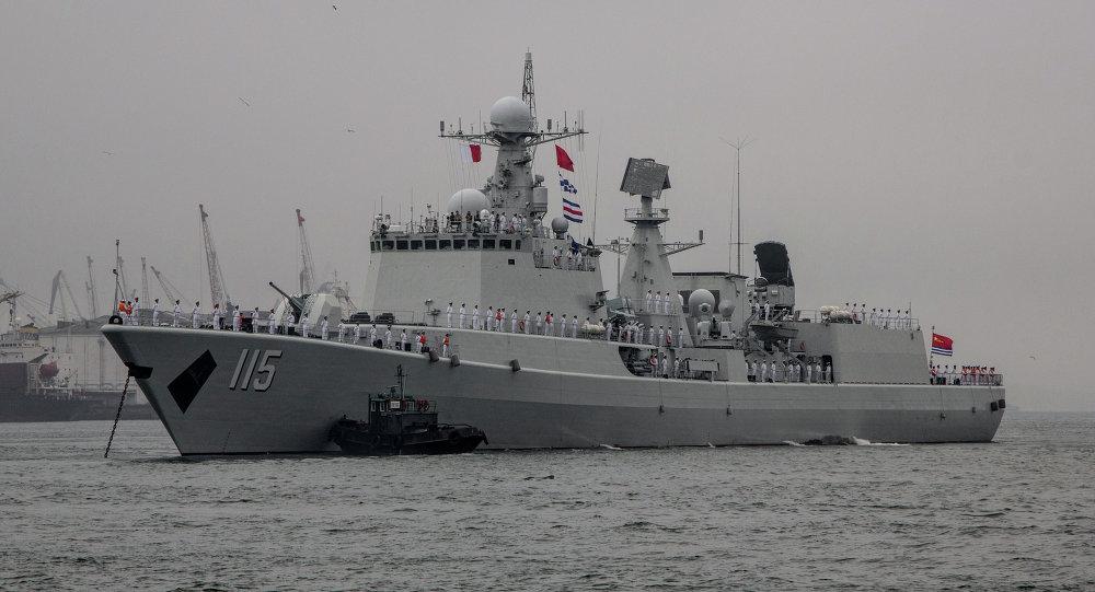 Navio da Marinha chinesa