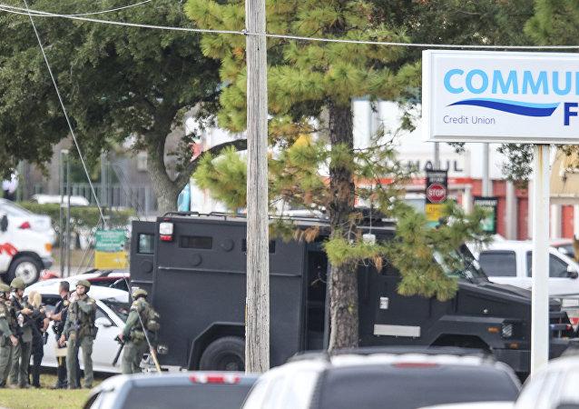Agentes especiais das forças de segurança de Jacksonville, na Flórida (arquivo)