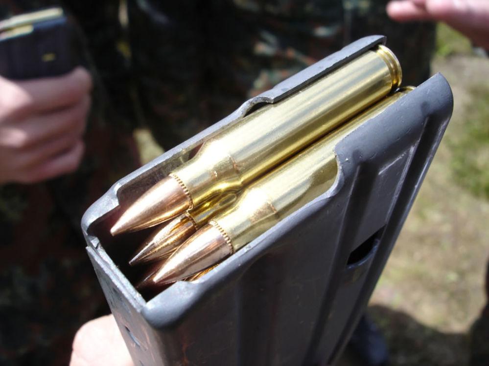 Cartuchos 5.56×45mm NATO