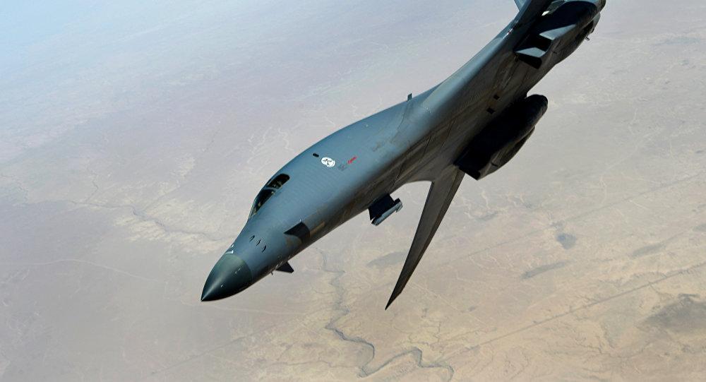 Bombardeiro estratégico estadunidense Lancer B-1B