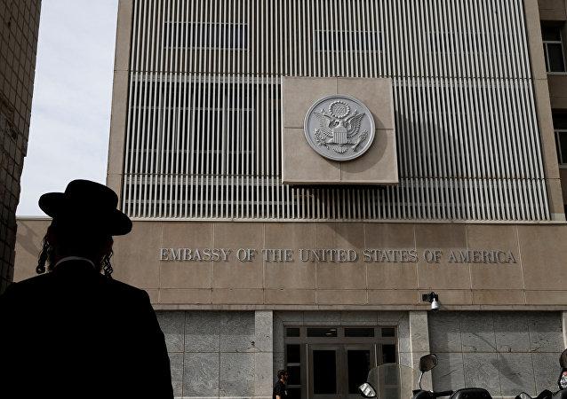 Embaixada dos EUA em Tel Aviv (foto de arquivo)