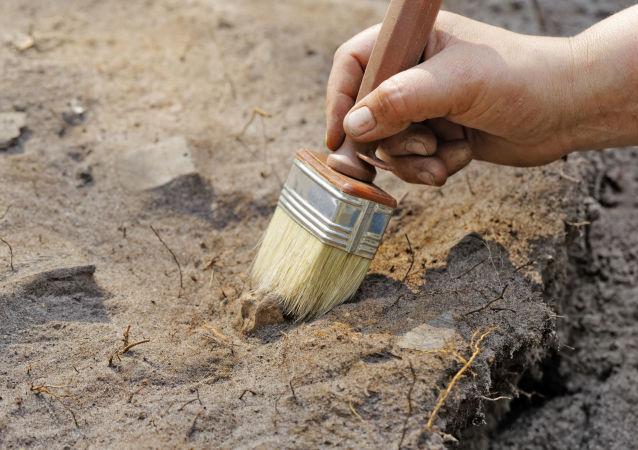 Escovações arqueológicas